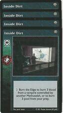 Inside Dirt x4 Black Chantry Kickstarter Danse Macabre Deck VTES Jyhad