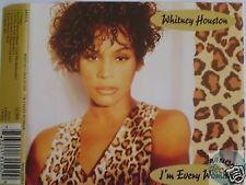 WHITNEY HOUSTON I'M EVERY WOMAN MAXI CD