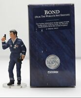 "Corgi Icon James Bond 007  ""T.W.I.N.E"" 3"" Figure (2nd Ed) #F04021"