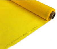 "3 Yards 300 mesh Yellow Screen Mesh SIlk Screen Fabric 50"" width Press Material"