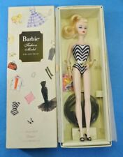BARBIE DEBUT SINCE 1959 SILKSTONE DOLL COLECCION GOLD LABEL N5006 FASHION MODEL