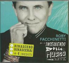 ROBY FACCHINETTI - INSEGUENDO LA MIA MUSICA LIVE- 3CD NUOVO SIGILLATO 2020 LEGGI
