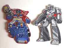 Transformers OPTIMUS PRIME & MEGATRON Embroidered Costume PATCH Set of 2