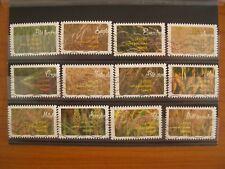 Série complète céréales 2017, 12 timbres