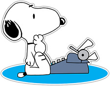 "Snoopy Dog Kids Cartoon Car Bumper Window Vinyl Sticker Decal 5""X4"""