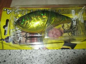 Lucky Craft FAT SMASHER 90,  1-1/4oz.  Aurora Green Perch -  fishing lure