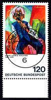 823 Vollstempel gestempelt EST Ersttag mit Gummi Unterrand BRD Bund Deutschland
