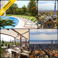 3 días 2P BARCELONA 4 ESTRELLAS HOTEL Vacaciones cortas FIN DE SEMANA incl.