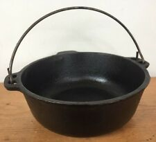 Vtg Wagner Ware Cast Iron Small Dutch Oven Stock Bean Pot Handle Cookware 8""