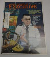 Government Executive Magazine Lt. Gen. Lee Paschall June 1978 FAA FAL 102016R