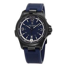 Victorinox Swiss Army Men's Night Vision 241707 Blue Rubber Swiss Quartz Watch