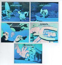"1991 IMPEL FIEVEL GOES WEST ""AN AMERICAN TALE"" 5-CARD HOLOGRAM SET"