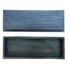 Wooden Boards Concrete Stone Mould Garden Stepping Path Road DIY Brick Mold