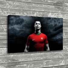 Cristiano Ronaldo Red Home Decor Room HD Canvas Print Picture Wall Art Painting