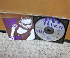 ANI DIFRANCO rare 1995 CD-single Shy & 32 Flavors live version Not A Pretty Girl