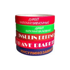 5 PCS NEW Custom Personalized Silicone Rubber Wristband Bracelet Wholesale Bands