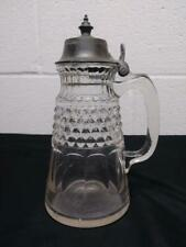 Antique Hobbs No 87   Molasses Syrup Pitcher Can - 1 Pint