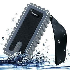 Wireless Bluetooth Speakers IPX7 Waterproof Super Bass HD Sound TF Card Slot AUX