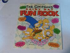 vintage retro collectible original old SIMPSONS Rainy Day Fun Book Homer Bart