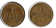 1 Mark Military money 3.Kompanie ca. 1910 German South West Africa Colonies