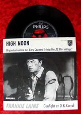 Single Frankie Laine High Noon GARY COOPER COVER le ore 12