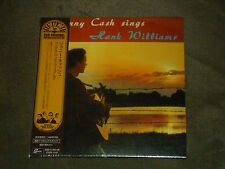 Johnny Cash Sings Hank Williams Japan Mini LP sealed