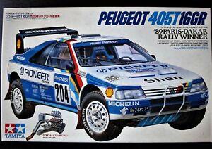 Product defect TAMIYA 1/24 Peugeot 405T 16GR  '89 Paris-Dakar Rally Winner  !