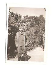 Altes Foto Bild Deutsches Reich 2. Weltkrieg Soldat Munitionsgürtel [217]