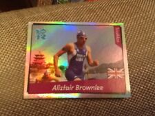 #394 Alistair Brownlee Triathlon Team GB/PANINI London 2012 Jeux Olympiques Autocollant