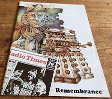 Dr. Who Skaro Magazine #13 May/July 1991