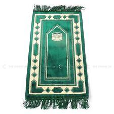 Turkish Kids Children Prayer Mat Green Islamic Pray Rug Namaz Carpet 60x35cm
