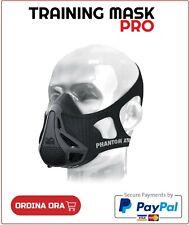 Training Mask - Maschera da Elevazione Bici Ciclista Moto attività all'Aperto