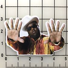 "Notorious BIG Biggie Smalls 5"" Wide Multi-Color Vinyl Decal Sticker - BOGO"