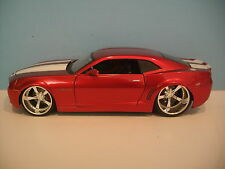 1/24 Scale BigTime Muscle RED 2006 CAMARO CONCEPT Die-cast By Jada Toys