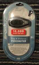 SPORTLINE Step and Distance Pedometer - NEW SEALED