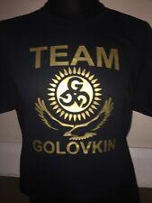 ggg golovkin t-shirt boxing gym workout t-shirt team golovkin