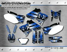 Yamaha WR250f WR400f WR426f 1998 up to 2002 graphics decals kit Moto StyleMX