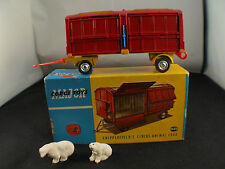 Corgi n° 1123 remorque Chipperfields circus animal cage bear transport en boite