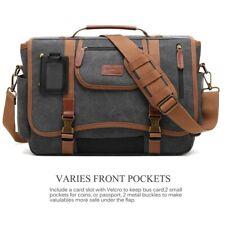 """CoolBELL Messenger Shoulder Bag Business Briefcase Travel Fits 15.6"""" Laptop"""