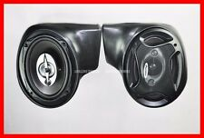 HARLEY DAVIDSON TOURING LOWER NON VENTED FAIRINGS 6x9 SPEAKER PODS (PODS ONLY)