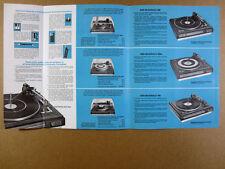 1968 BSR McDonald 600 500A 400 Turntables vintage print Ad