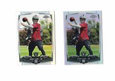 2014 Topps Chrome Derek Carr Refractor [ LOT 2 ] ROOKIE CARD