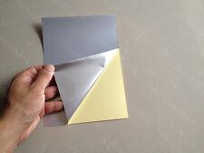 10pc A5 Waterproof PET Silver Film Self Adhesive Sticker Paper for Lazer Printer