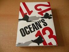 DVD Box - Ocean`s 11 + 12 + 13 - Kult - Brad Pitt Julia Roberts George Clooney