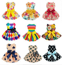 Cute Pet Dog Dress Skirt Puppy Princess Costume Apparel Spring Bow Cat Clothes