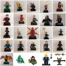 minifigure marvel lego custom infinity war-fine del gioco-dc comics-superheroes