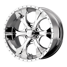 "(1) 16X8 00 6X139.7 6X5.5 HE791 MAXX CHROME PLATED WHEEL/RIM 16"" INCH 53701"
