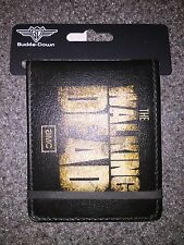 NWT AMC THE WALKING DEAD BLACK WALLET I SHIP EVERYDAY