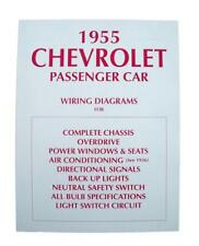 1955 chevrolet wiring diagram other manuals   literature for 1955 chevrolet sedan delivery for 1955 chevy 210 wiring diagram 1955 chevrolet sedan delivery
