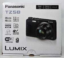 Panasonic Lumix dmc-tz58eg-k Super Zoom Cámara 16 Mp, 24mm Gran Angular -